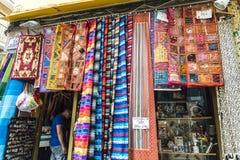 Matta shoppar, Spanien Fotografering för Bildbyråer