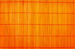 matta ställesushi för bambu Arkivbilder