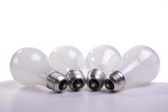 Matte electric bulbs Royalty Free Stock Photo
