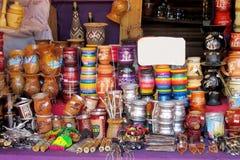 Matte kopp för souveniryerba Royaltyfri Fotografi