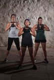 Matte-Lager-Trainings-Frauen Lizenzfreie Stockfotografie