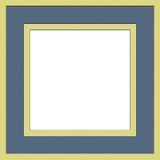 Matte photo frame Royalty Free Stock Photos