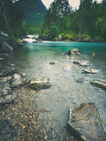 Matte River Scenery Landscape royalty free stock photo