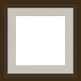 Matted frame Stock Images
