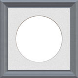 Matted grey frame Royalty Free Stock Photo
