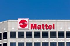 Mattel kwater głównych Korporacyjny Budować Obrazy Royalty Free