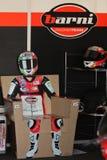 Matteo Baiocco Ducati 1098R Barni che corre squadra Fotografia Stock Libera da Diritti