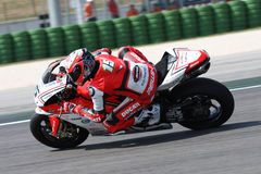 Matteo Baiocco Ducati 1098R Barni Racing Team Stock Photography