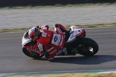 Matteo Baiocco - Ducati 1198R - Barni Racing Royalty Free Stock Photos