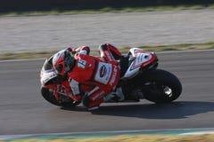 Matteo Baiocco - Ducati 1198R - corsa di Barni fotografie stock libere da diritti