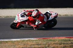 Matteo Baiocco - Ducati 1198R - corsa di Barni immagini stock