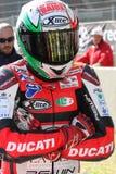 Matteo Baiocco - Ducati 1198R - corsa di Barni immagine stock libera da diritti