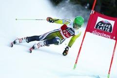 Matteo Canins in Audi Fis Alpine Skiing World-de Reus van Kopmen's stock foto