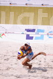 Matteo Ingrosso - beach volleyball talent Royalty Free Stock Photos