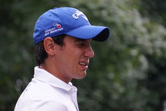 Matteo Manassero. Golf: Matteo Manassero at European Golf Tour Italian Open by Damiani royalty free stock image