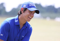Matteo Manassero  at golf French Open 2010 Royalty Free Stock Photos