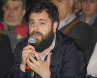 Matteo oleotto italian director Stock Image