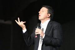 Matteo Renzi σε Siracusa, στις 15 Νοεμβρίου 2016 Στοκ εικόνα με δικαίωμα ελεύθερης χρήσης