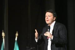 Matteo Renzi в Siracusa, 15-ое ноября 2016 Стоковое фото RF
