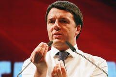 Matteo Renzi Stockbild
