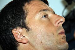 Matteo Renzi Stockfoto