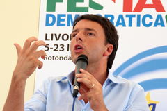 Matteo Renzi royalty free stock images