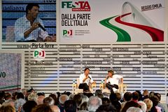 Matteo Renzi Photos stock