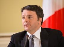 Matteo Renzi Zdjęcie Royalty Free