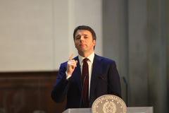 Matteo Renzi Royalty Free Stock Images