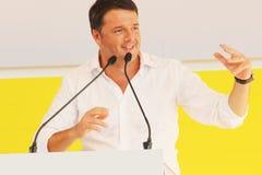 Matteo Renzi, Itália Fotos de Stock Royalty Free
