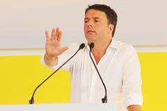 Matteo Renzi, Italië Royalty-vrije Stock Afbeelding
