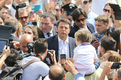 Matteo renzi Stock Photography