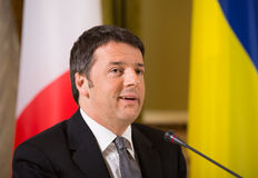 Matteo Renzi Royalty Free Stock Photo