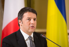 Matteo Renzi Stock Photo