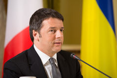 Matteo Renzi Stock Photos
