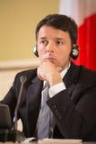 Matteo Renzi Stock Image