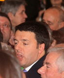 Matteo Renzi national premier last day as Florence Stock Photos