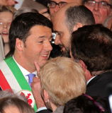 Matteo Renzi national premier last day as Florence Stock Photography