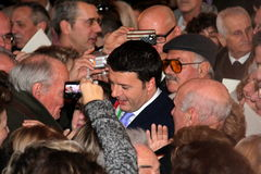 Matteo Renzi national premier, last day as Florence Stock Image