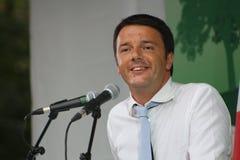 Matteo Renzi, Włoski polityk fotografia stock