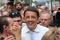 Matteo Renzi, Włoski polityk zdjęcia stock