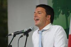 Matteo Renzi, Włoski polityk zdjęcie stock