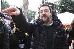 Matteo-salvini, Italien Stockfotografie