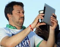 Matteo-salvini, Italien Stockbild