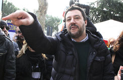 Matteo salvini,italy Stock Photography