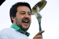 Matteo salvini,italy Royalty Free Stock Images