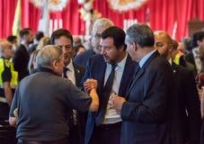 Matteo Salvini, Włochy zdjęcie stock