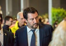 Matteo Salvini, Włochy fotografia royalty free