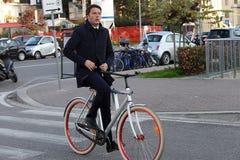 Matteorenzi, Italië, eerste minister Royalty-vrije Stock Foto's