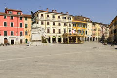 Matteotti square, Sarzana Royalty Free Stock Photography
